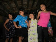 Sponsorship Awareness Brigade 2012:    Vanessa, Henessey, Tatianna, and Angelica dancing at their Christmas in July festival :)