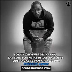 Kendrick Lamar siempre con las frases justas!