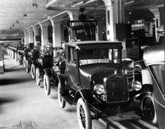 The first production Model T Ford was finished in Detroit on this day in 1908 (pinned 10/1/2012).