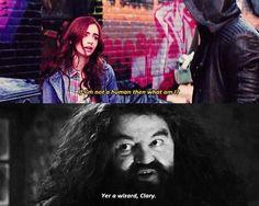 Harry Potter meets TMI