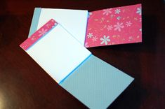 Pretty DIY personalized notepads
