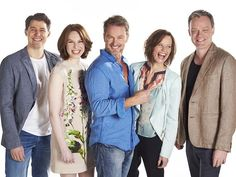 Casting call ... Craig McLachlan and the cast of The Dr Blake Mysteries. Picture: ABC