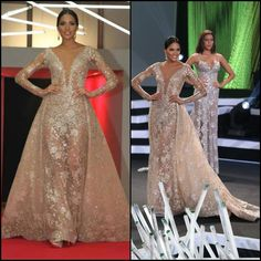 Nick Verreos: SASHES AND TIARAS.....Miss Colombia Universe 2015-2016 Andrea Tovar: EVENING GOWN RECAP of Señorita…