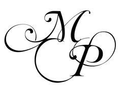 M - P monogram www. Letter J Tattoo, Monogram Tattoo, Monogram Logo, Tattoo Lettering Fonts, Hand Lettering Alphabet, Typography, P Tattoo, Body Art Tattoos, Truck Tattoo