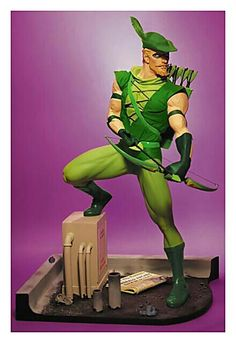 #Green Arrow #Comic #Statue.