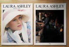 VINTAGE 1985 LAURA ASHLEY CATALOGUES WOMEN'S FASHION CLOTHING SPRING AUTUMN A/W