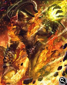FFVII Ifrit from Mobius Final Fantasy