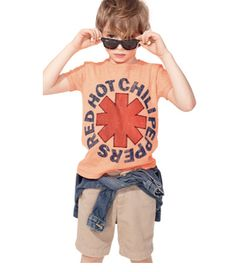 Authentic rock tees for kids from Bravado now at J Crew
