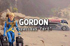 """Gordon """"Spacious Fort""""."""