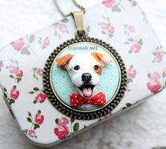 Custom dog portrait jack russell portrait custom pet by NicomadeMe