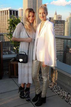 Chelsea Leyland and Chloe Perrin