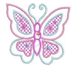 Resultado de imagen para bordado mariposas