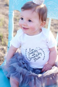"""I am fearfully and wonderfully made"" baby onesie // wonderfullymade.org"