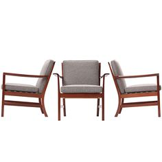Fine Armchairs by Ole Wanscher