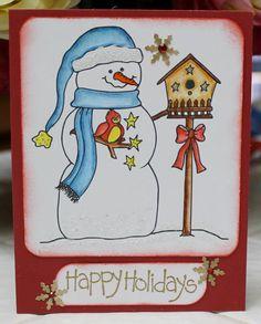 Happy Holidays. $5.00, via Etsy.