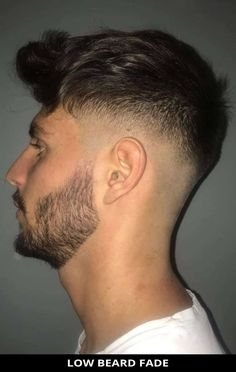 Here's a popular low beard fade for your next haircut! See all of the details for this style by tapping Visit and you'll also see the remaining 22 most amazing ideas for beard fade haircut for guys. // Photo Credit: @_cristianbarber on Instagram Latest Hairstyles, Hairstyles Haircuts, Beard Fade, Rugged Look, Beard Styles For Men, Fade Haircut, Photo Credit, Hair Cuts, Amazing Ideas