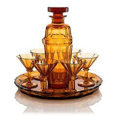 Göran Hongell, cocktailset, 8 delar, modell 5413, Karhula Glasbruk 1930-tal. - Bukowskis Wine Cocktails, Cocktail Drinks, Cocktail Recipes, Glass Design, Design Art, All Themes, Drinking Glass, Nordic Design, Bukowski
