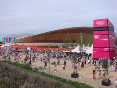 Saturday 11th August. Olympic Park. The Velodrome aka The Gold Mine