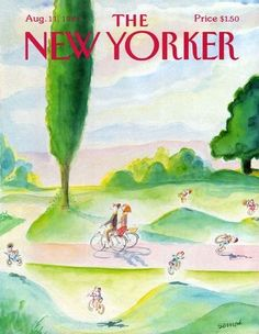 Sempé. The New-Yorker. 1986