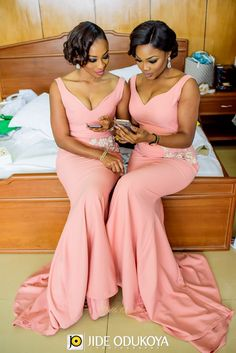 A-line Long Bridesmaid Dresses,Chiffon bridesmaid dresses Black Girl Long Bridesmaid Dresses . African Bridesmaid Dresses, Mermaid Bridesmaid Dresses, Wedding Bridesmaids, Wedding Attire, Wedding Gowns, Braids Maid Dresses, African Fashion Dresses, Stunning Dresses, Couture