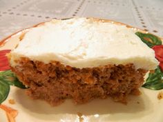 Ginny's Low Carb Kitchen: CARROT CAKE WITH COCONUT RUM CREAM CHEESE FROSTING...