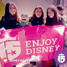 Fotitos de las chicas de Córdoba del cole Monjas Azules con Transatlántica #Enjoy15