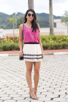look do dia pink mood costume schutz le lis blanc street style fashion moda borboletas na carteira-6