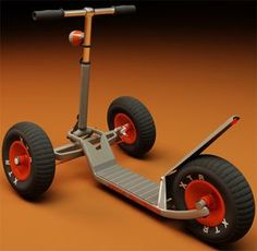 The Triton scooter concept can carry up to of load and has been designed to offer equally pleasurable ride and fun both for children and adults. Wooden Scooter, Scooter Bike, Kick Scooter, Best Electric Bikes, Electric Scooter, Scooter Design, Bike Design, E Quad, Montain Bike