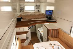 I've always dreamed of having a Semi Truck w\ Trailer... this would be the inside of my trailer. :)