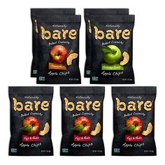 #onsale #Bare #Apple Chips are made from fresh apples that are sliced and baked until they're crave-ably crunchy. This variety pack allows you to sample all of ou...