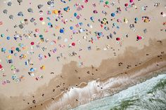 photographer Gray Malin has shot a series of stunning beach scenes from a doorless helicopter