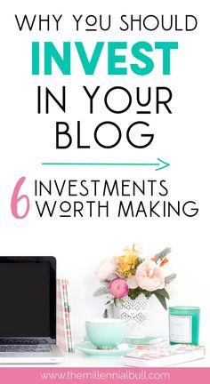 Why you should invest in your blog to increase your traffic and earn passive income! These awesome blogging resources are some of our favorite ways to boost our traffic and make money from our blog. If you are serious about blogging, you must spend some money to make some money.  #passiveincome #bloggingtips #bloggingresources