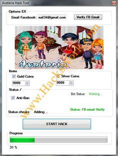 Avataria hack tool 2014 password