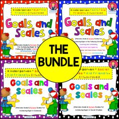 SAVE WHEN YOU PURCHASE THE BUNDLE!This bundle contains Goals and Scales for achieving rigor in the classroom using the Florida Standards for ELA, Math, Science, and Social Studies. Each strand is color coded. The goals and scales keep the intent of Art Classroom, Classroom Ideas, Primary Classroom, Classroom Resources, School Classroom, Florida Standards, Kindergarten Goals, Visible Learning, Learning Goals