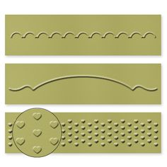 Adorning Accents Embossing Folders. . . set of 3 great accents!  SHOP:  www.georgia.stampinup.net