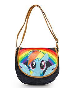 Look what I found on #zulily! My Little Pony Rainbow Dash Crossbody Bag by My Little Pony #zulilyfinds