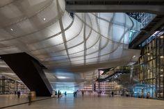 Terminado el Nuevo Centro de congresos EUR y Hotel 'la Nube' por Studio Fuksas. Fotografía © Leonardo Finotti