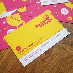 Business Card Design: Studio MIKMIK - Rhythm Kitchen business cards