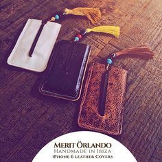 Today in Las Dalias de Ibiza and tomorrow in Mercado De San Joan Handmade in Ibiza Leather iPhone 6 covers