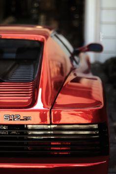 #Ferrari #512 #Testarossa