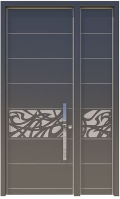 The Prose door is one of the art doors by Reshafim and it offers the integration of a classic art-nouveau style ornament with straight clean lines of the modern trend. The design of the door fits individuals who integrate the old and the new, the traditional and the innovative, into a single creation, to create a strained luxurious entrance.