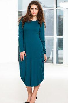 Осенние платья для полных