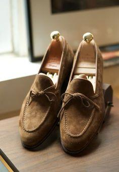 Carmina Suede Loafers