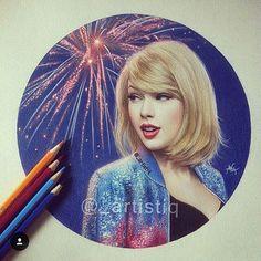 Taylor Swift By- @_artistiq #arts_help #fashion4arts #sempredesenhando #desenhos #taylor #taylorswift