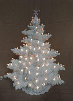 Made to Order 17 Frazier Fir Lighted Ceramic Christmas Ceramic Christmas Tree Lights, Christmas Tree Beads, Vintage Ceramic Christmas Tree, Retro Christmas Tree, French Christmas, Holiday Tree, Christmas Tree Decorations, Christmas Crafts, Christmas 2019