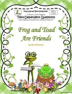 Frog and Toad Are Fr