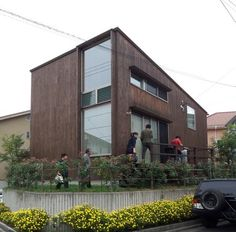ローコスト住宅 事例 Cafe Design, House Design, Pretty Room, Prefab, Loft, Interior Architecture, Facade, Building A House, Cottage
