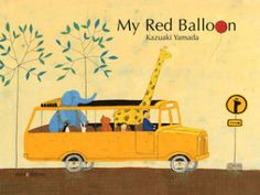 My Red Balloon by Kazuaki Yamada. miniedition, 2014. // This Picture Book Life