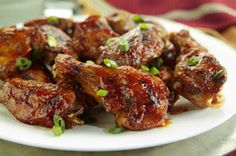 Spicy Sesame Buffalo Chicken Wings recipe