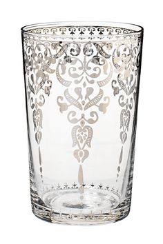 Vintage glass tumbler. This is stupid pretty!